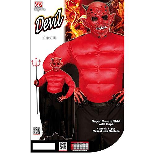 Disfraz diablo adulto talla M producto plus