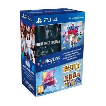 Playlink PS4 con 4 juegos