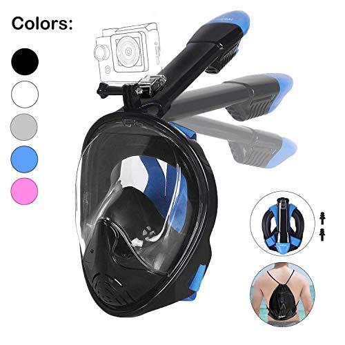 Máscara Snorkel + soporte cámara