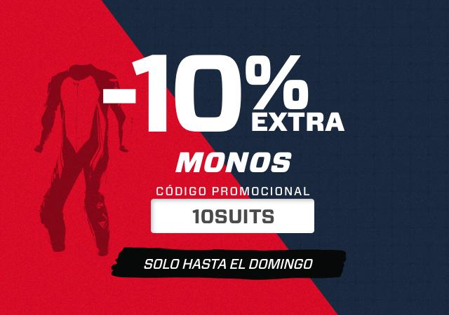 10 % DESCUENTOS EN MONOS