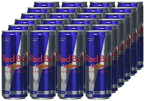 24 latas de Red Bull