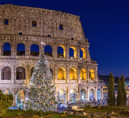 DICIEMBRE Fin de semana en  Roma en hotel 4* con desayuno desde sólo 102€/p incluyendo vuelos