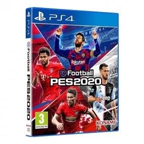 PES 2020 físico para PS4