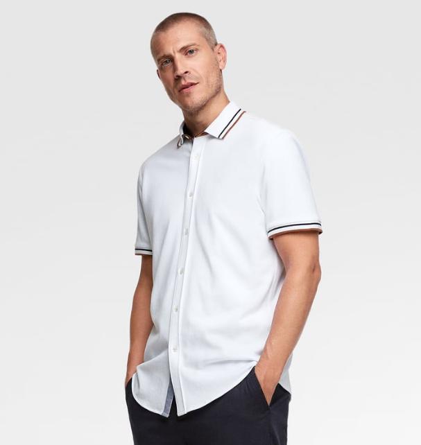 Camisa de manga corta Zara
