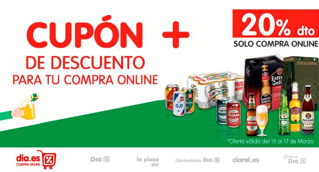¡¡¡ SAN CERVECITA !!!     20% DE DESCUENTO +  CUPÓN DE 7 EUROS