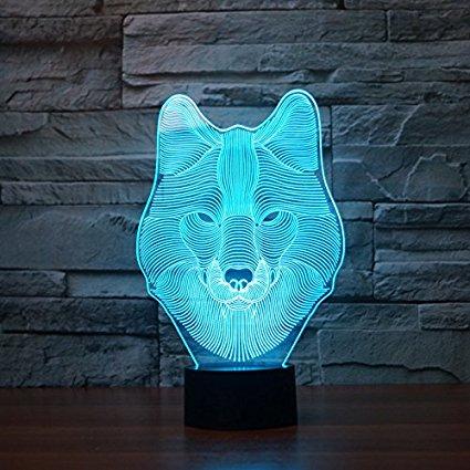 Lámpara decoración 3D solo 5.99€
