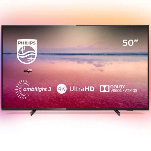 "Smart TV LED 4K UHD Philips 50"""
