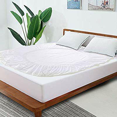 Amazon: protector para colchón impermeable antialergénico antibacteriano.