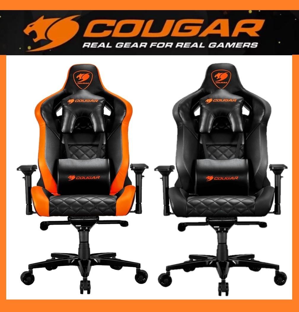 Cougar Armor Titan Negro/Naranja o Negro