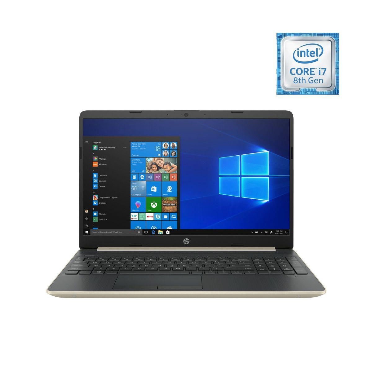 Portátil HP 15-dw0000ns, i7, 12 GB RAM, 1 TB HDD + 256 GB SSD, MX130 2 GB