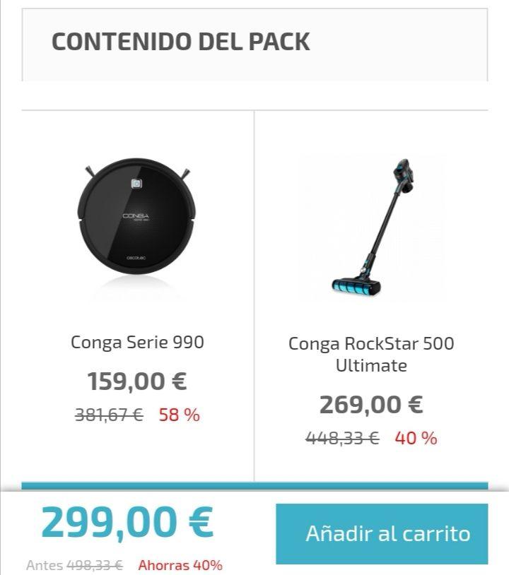 RockStar 500 Ultimate 269€ y llévate por 30€ más un Conga 990