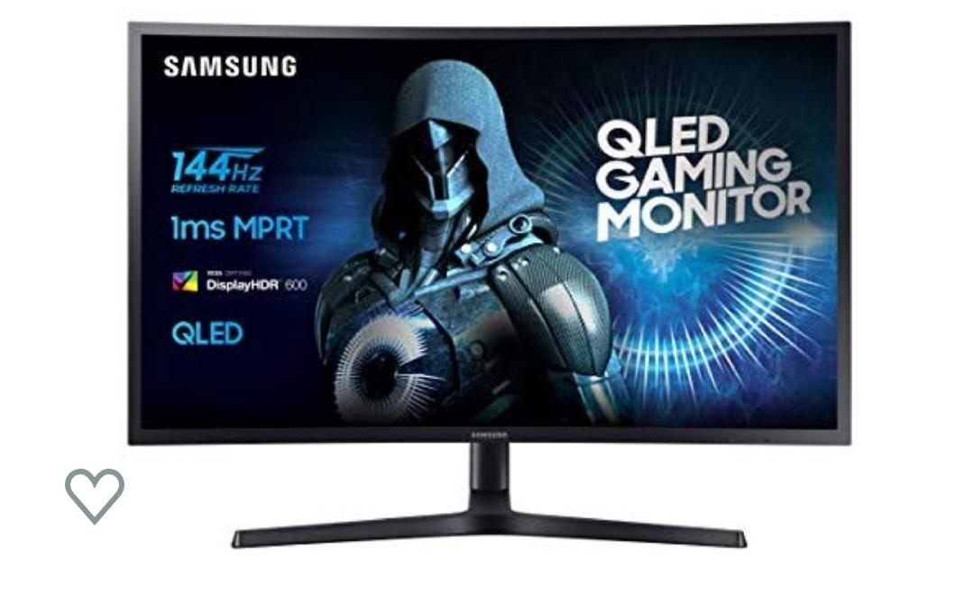 Monitor QLed curvo de 27 pulgadas Samsung