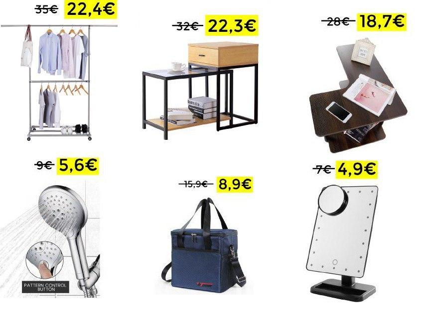 Bajadas de precio en productos de hogar