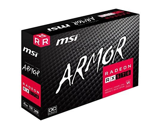MSI AMD Radeon RX 570 Armor 4G OC