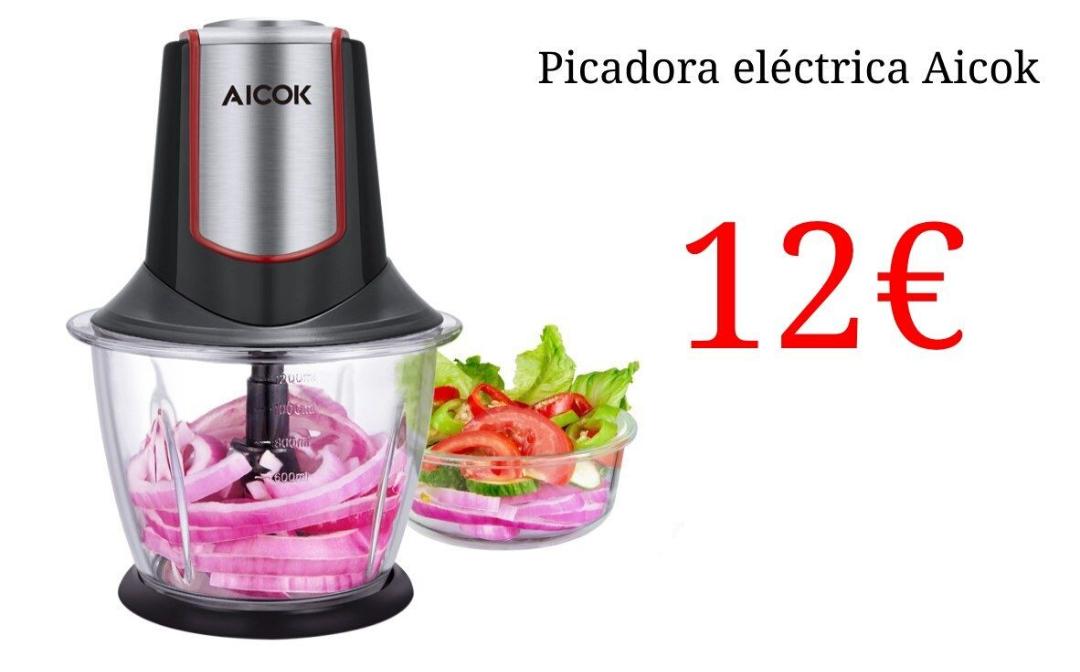 Picadora eléctrica por 12€!!