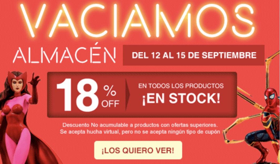 18% en todo el stock de Vistoenpantalla
