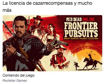 Red Dead Online: La licencia de cazarrecompensas y más con Twitch Prime