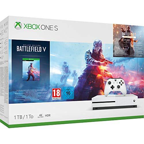 Xbox one s con battlefield V