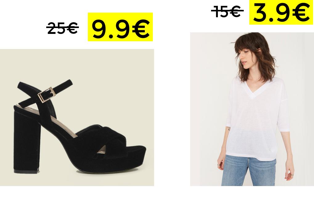 Liquidación en selección de ropa y calzado Amichi