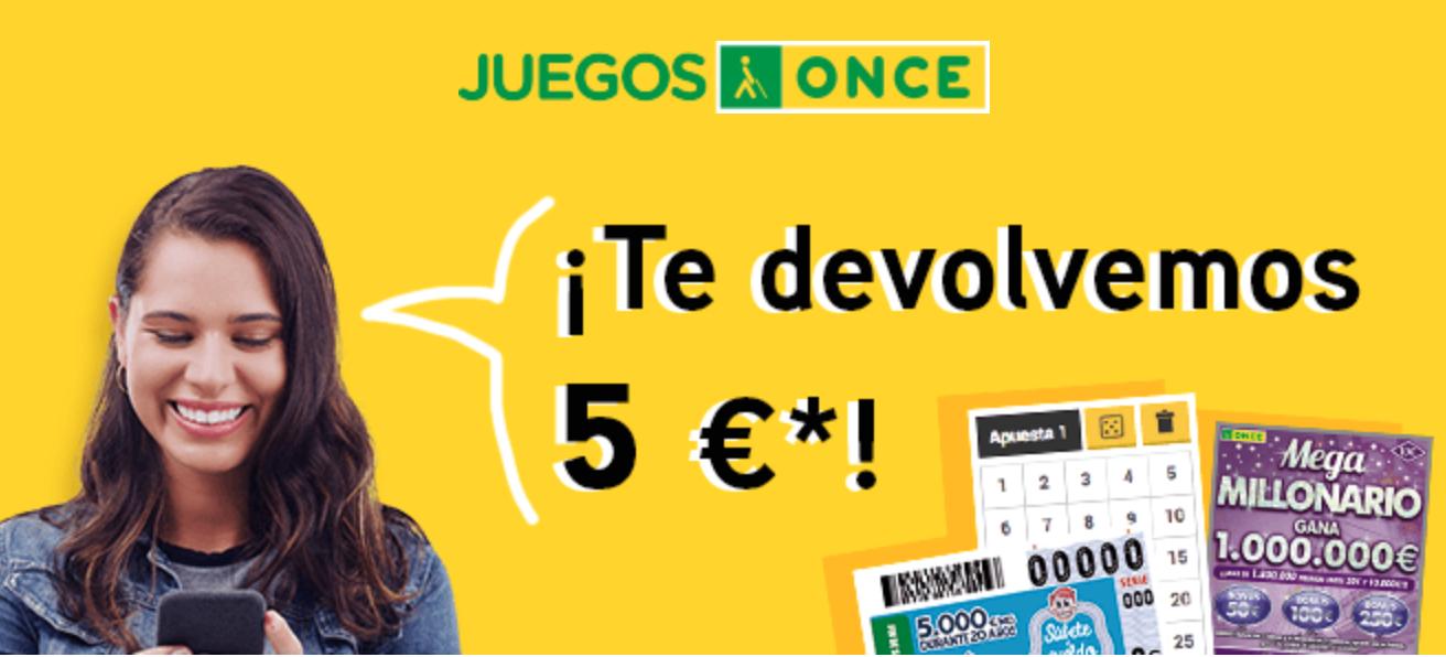 Te recargan 5€ de saldo si juegas 10€ entre los días 13 y 14 de septiembre