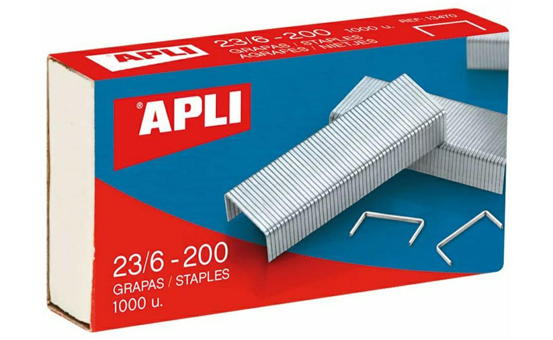 Pack De 1000 Grapas, 23/6 - 200, producto plus