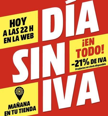 Día Sin IVA Media Markt Septiembre 2019