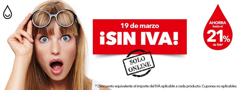 DIA 19 DE MARZO /  DIA SIN IVA