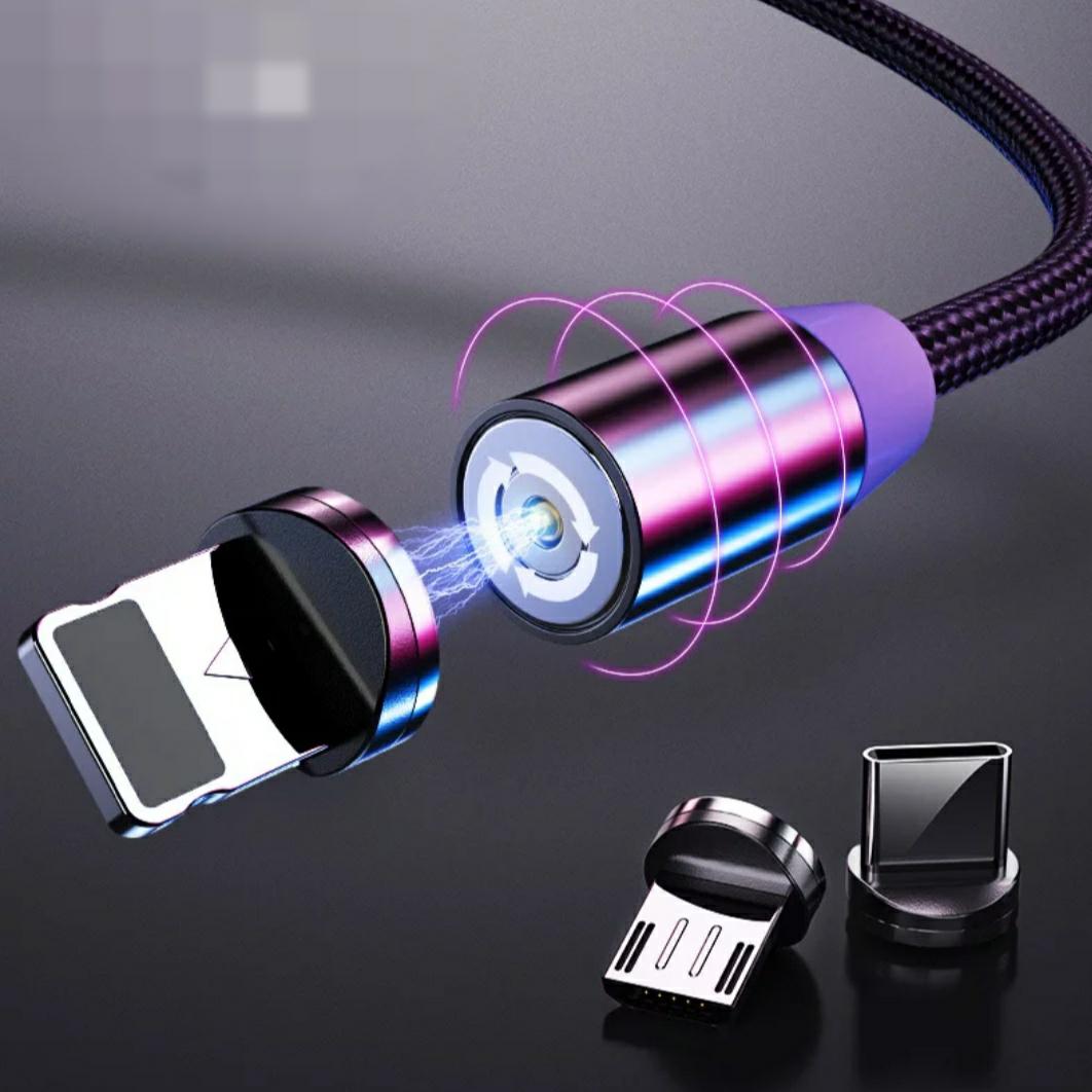 Cable Magnético, diferentes (Micro USB, USB-C, lightning)