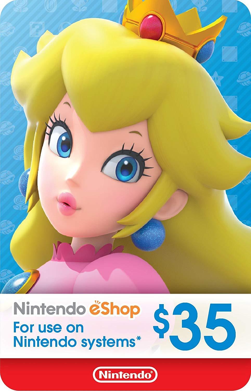 Tarjeta Nintendo eShop 35€ a 29.18€ (Switch, Wii U, 3DS, 2DS...)