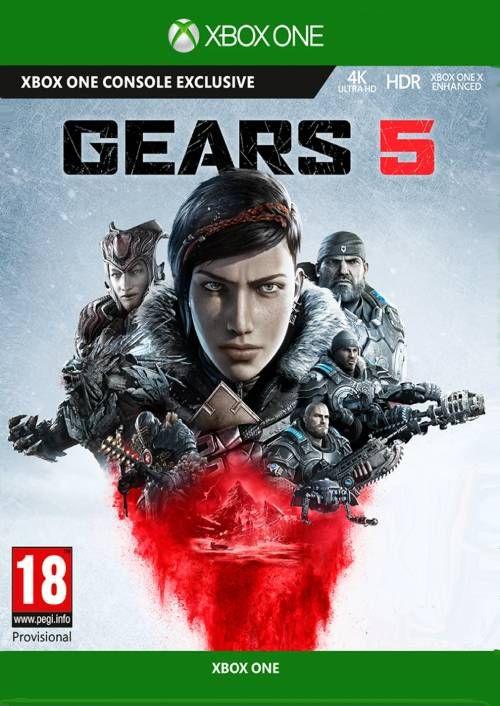 Gears 5 para Xbox One y PC por 39,19€ y Gears Bundle para Xbox One con 5 juegos por 44,79€
