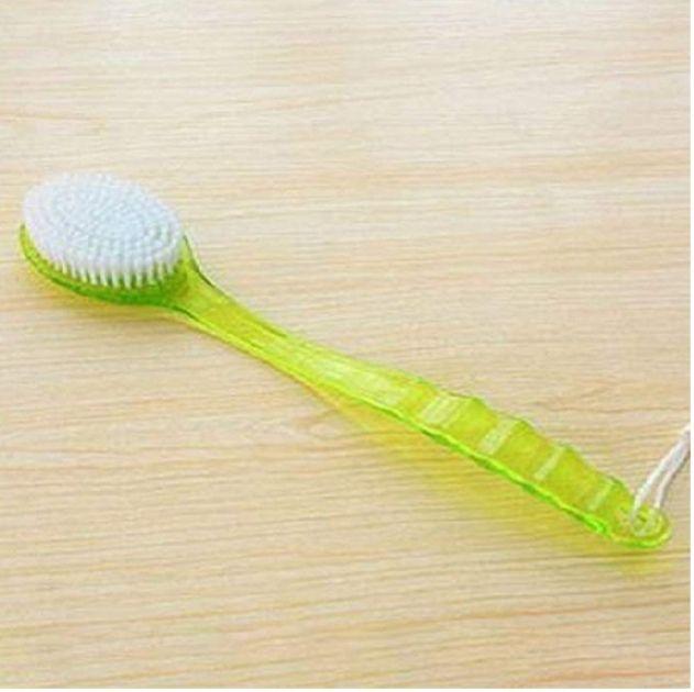 Cepillo de baño para la espalda con mango largo