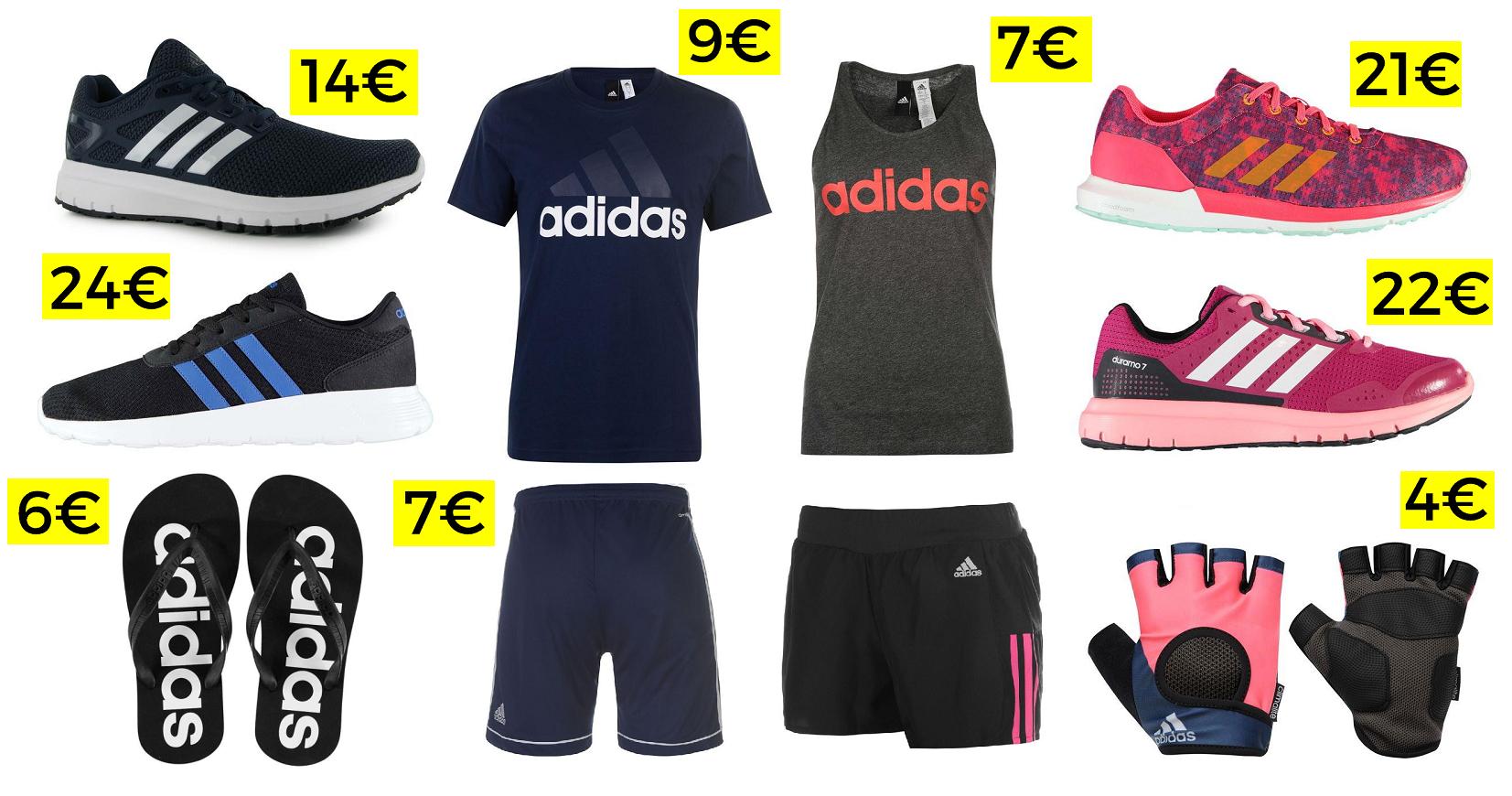50% en Adidas + 20% EXTRA al pagar con la APP