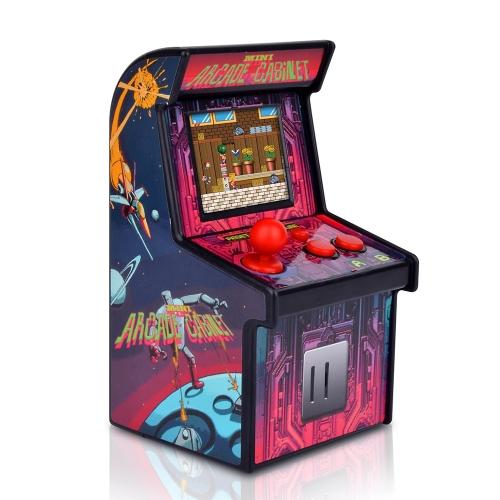 Retro mini arcade con 200 juegos clásicos.