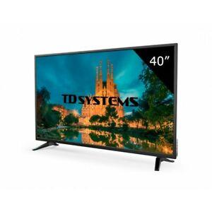 "TD Systems 40"" LED FullHD tienda oficial Ebay"