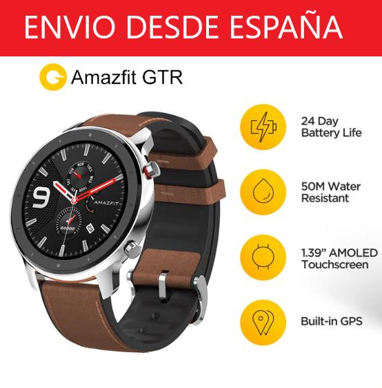 Amazfit GTR 47mm GPS AMOLED BT5.0 [España]
