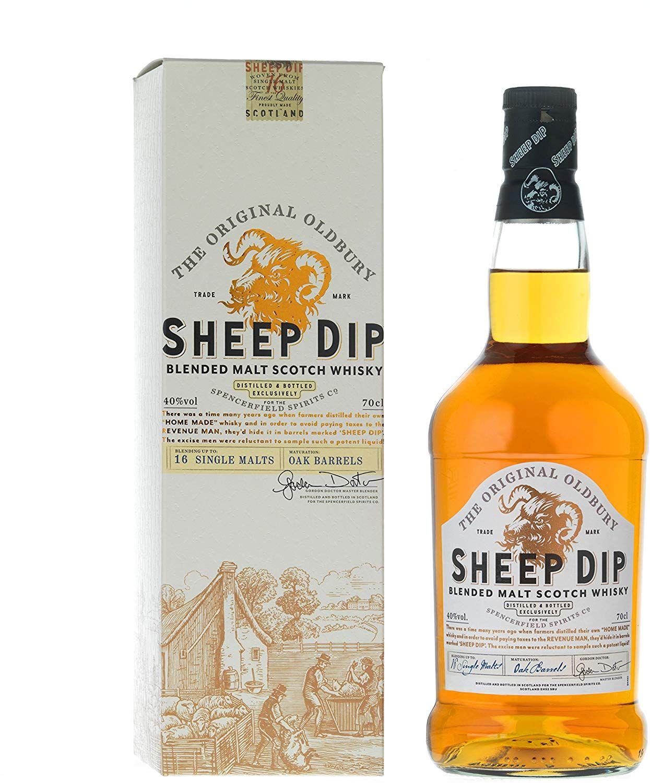 Whisky Sheep Dip - 700 ml.