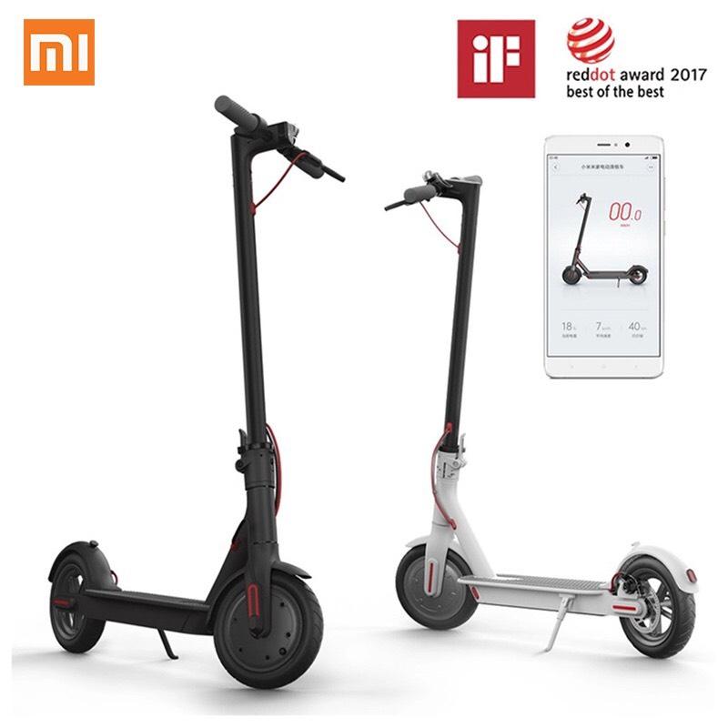Xiaomi M365 desde Plaza por 313€ y desde China por 261,69€