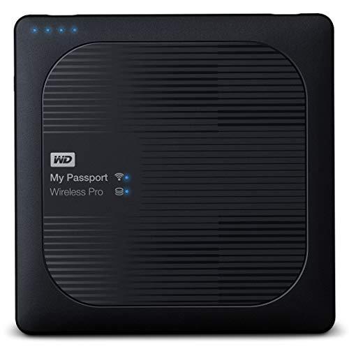 WD My Passport Wireless Pro - Disco Duro Externo portátil de 3 TB