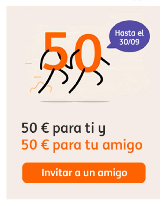 Plan Amigo ING Direct: 50€ para ti y 50€ para tu amigo