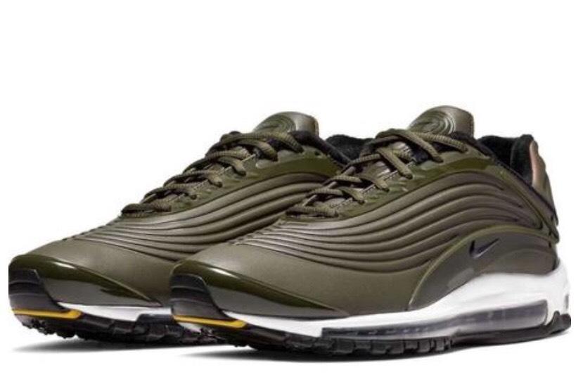 Zapatillas Nike Air Max Deluxe Hombre Verde