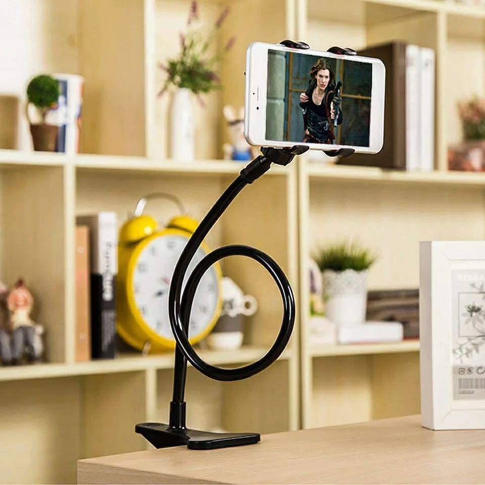 Soporte brazo largo soporte para teléfono ...., 360 grados