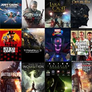 90% +200 juegos Xbox One, 360 y Windows (Microsoft descuentos semanales)