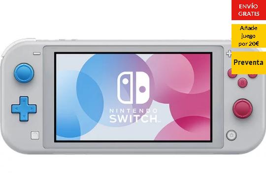 Nintendo Switch Lite + Juego 240€
