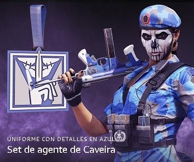 Set Rainbow Six Siege GRATIS agente de Caveira Twitch Prime