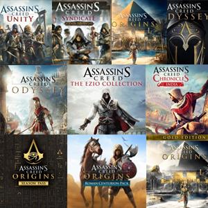 Hasta un 72% saga Assassin's Creed (PS4)