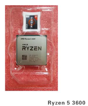 Ryzen 5 3600 Nuevo pago por Paypal (6,54€ +)