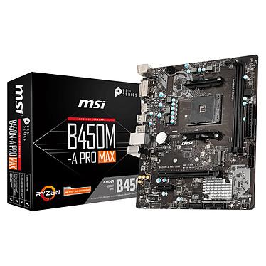 Placa base MSI B450M-A PRO MAX