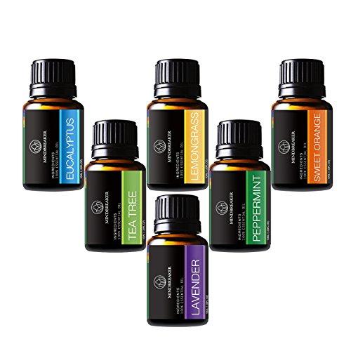 Pack de 6 botes de aceites esenciales (Oferta Flash)