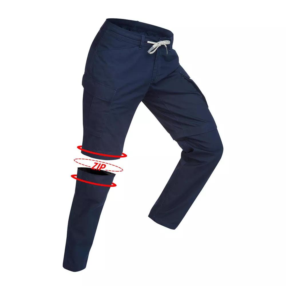 pantalón desmontable hombre decathlon tallas 44, 46 y 48