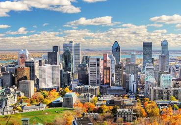 MARZO Vuelo (ida y vuelta) Madrid - Montreal por solo 291€
